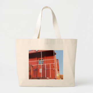 End of The Line Large Tote Bag