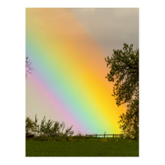 End Of The Rainbow Pot Of Gold Postcard