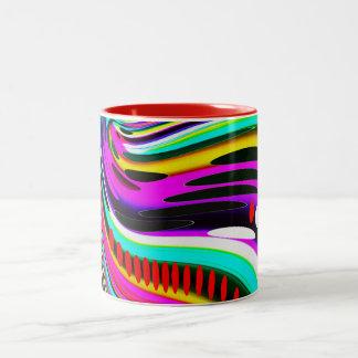 End of the rainbow Two-Tone coffee mug