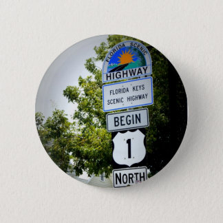 End of the Road 2 Inch Round Button