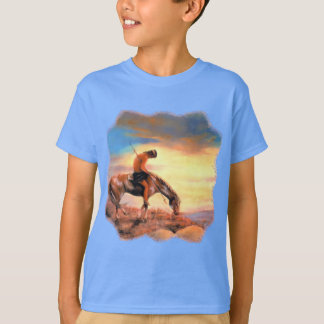 End of the Trail Native American Kid's T-shirt