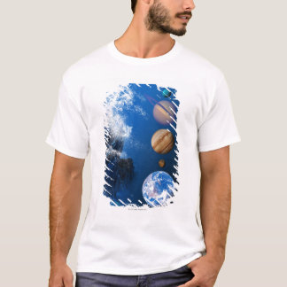 End of the World in 2012 conceptual computer T-Shirt