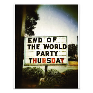 End Of The World Party Photo