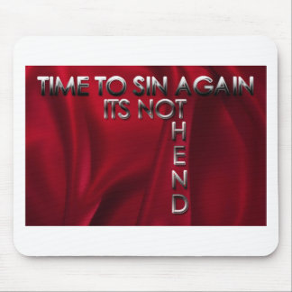 end  of the world stuff mouse pad