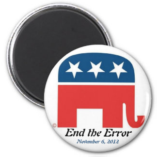 End the Error on November 6, 2012 Magnet