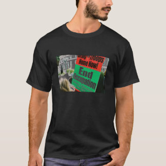 end the occupation sign T-Shirt
