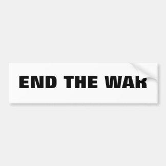 End the War Bumper Sticker