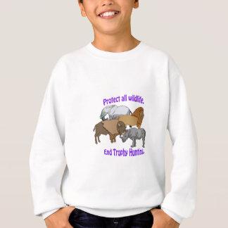 End Trophy Hunting! Sweatshirt