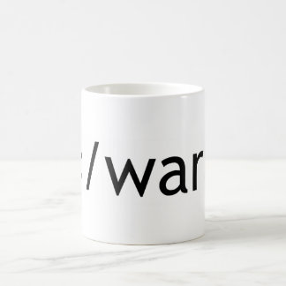end war coffee mug
