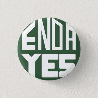 ENDA Yes 1 Inch Round Button