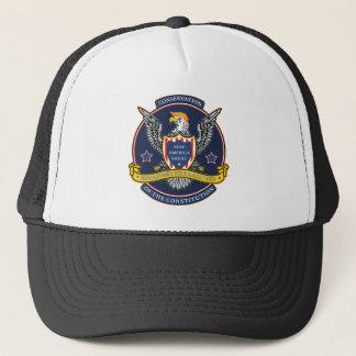 Endanger the Bald Ego Trucker Hat