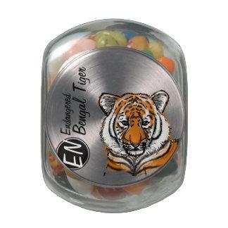 Endangered | Bengal Tiger | Candy Jar