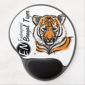 Endangered | Bengal Tiger | Mousepad Gel Mouse Pad