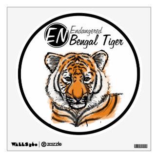 Endangered   Bengal Tiger   Wall Decal