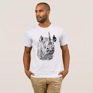 Endangered Black Rhino | African Wildlife T-Shirt