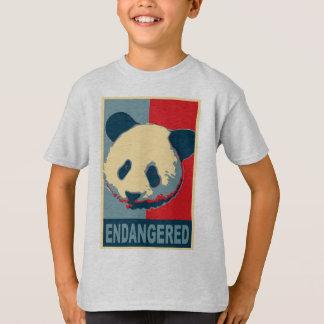 Endangered Panda Pop Art Design Tshirts