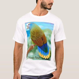 Endangered St Vincent Parrot T-Shirt