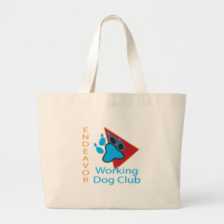 Endeavor Working Dog Club Logo Jumbo Tote