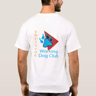Endeavor Working Dog Club Logo Short Sleeve Shirt