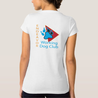 Endeavor Working Dog Club Logo V-neck shirt