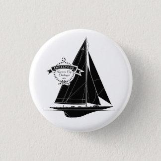 Endeavour Black 1 Inch Round Button