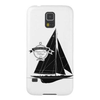 Endeavour Black Galaxy S5 Case
