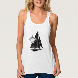Endeavour Black Tank Top