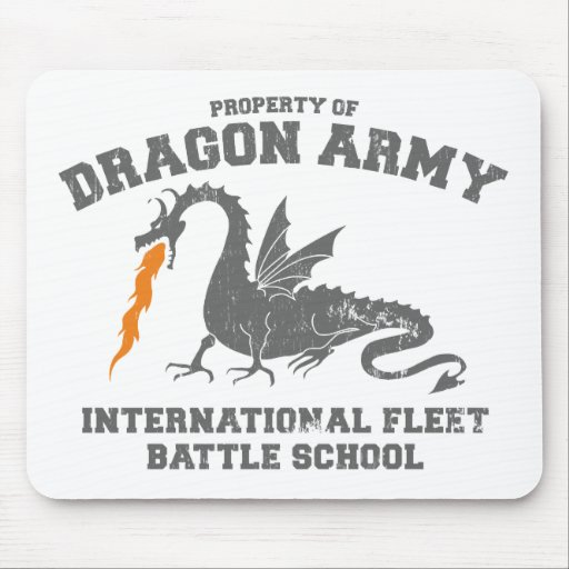 ender dragon army mouse pad