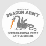ender dragon army stickers
