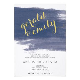 Endless Blue Wedding Invitations