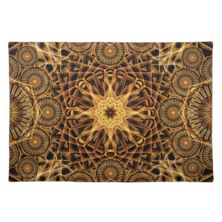 Endless Earth Mandala Placemat
