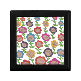 Endless Garden Flower Pattern Art Gift Box