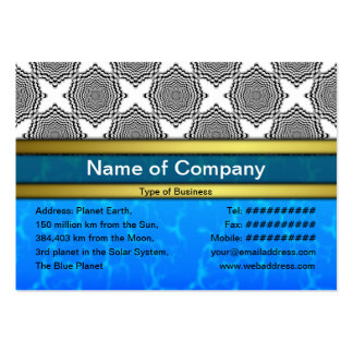Endless Illusions Large Business Card