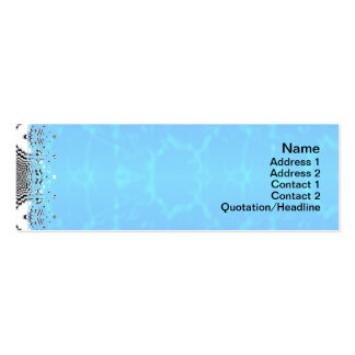 Endless Illusions Pack Of Skinny Business Cards