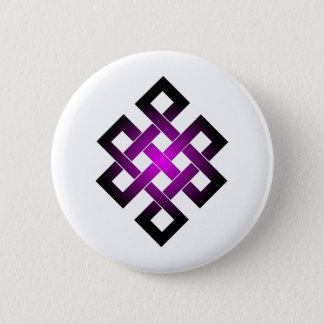 Endless knot 2 inch round button