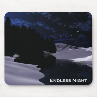 Endless Night Mouse Pad