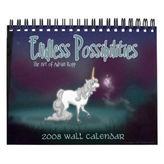 """Endless Possibilities"" 2008 Wall Calendar"