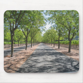 Endless Road Mouse Pad