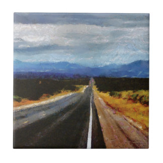 Endless Road - New Mexico. Tile