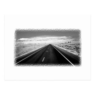 Endless Road Post Card