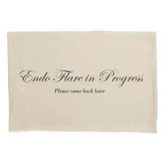 Endo Flare in Progress Pillowcase