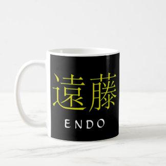 Endo Monogram Coffee Mug