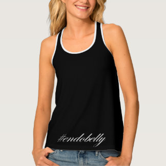 #endobelly tank top