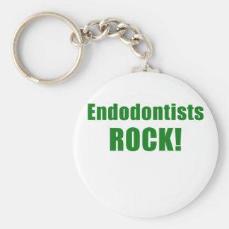 Endodontists Rock Keychain