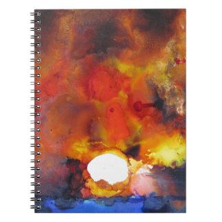 EndOfTNight$500.JPG Spiral Notebook