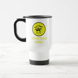 Endometreosis sucks travel mug