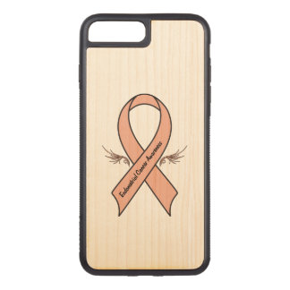 Endometrial Cancer Awareness Carved iPhone 8 Plus/7 Plus Case