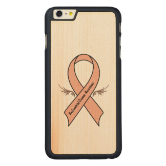 Endometrial Cancer Awareness Carved Maple iPhone 6 Plus Case