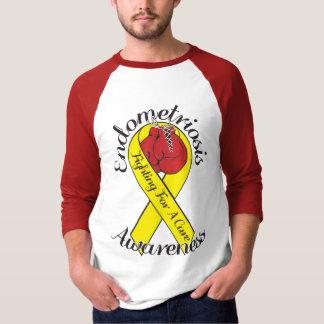 ENDOMETRIOSIS AWARENESS 3/4 Sleeve Raglan T-Shirt