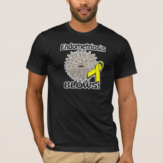 Endometriosis Blows Awareness Design T-Shirt